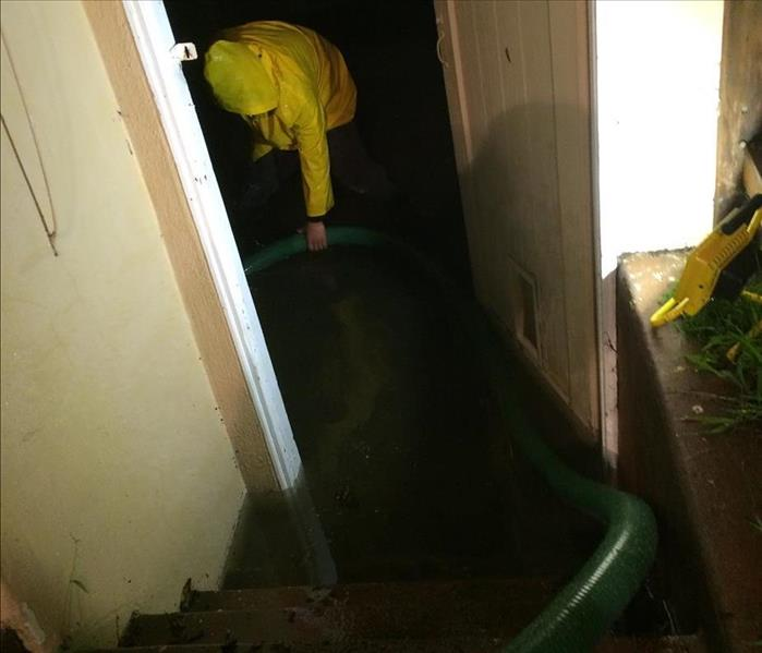 Basement Flooded in San Mateo County, CA